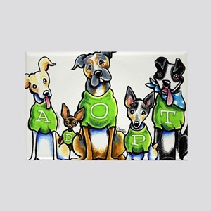 Adopt Shelter Dogs Magnets
